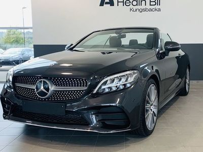 begagnad Mercedes C200 Cabriolet, AMG, Navigation