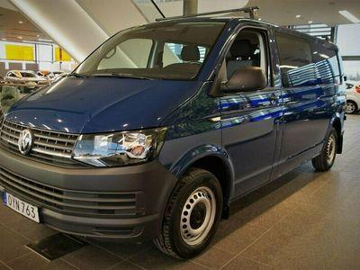 begagnad VW Transporter T6 140 hk Dubbelhytt