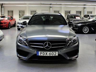 begagnad Mercedes C220 T d 4MATIC 9G-Tronic AMG / Designo