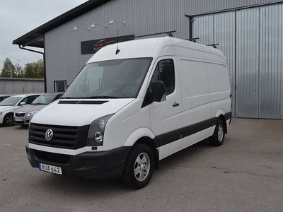 begagnad VW Crafter 2.0 TDI 136hk NYBES Toppsk -16