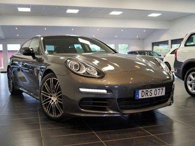 begagnad Porsche Panamera Diesel / Navi / Skinn / Turb -15