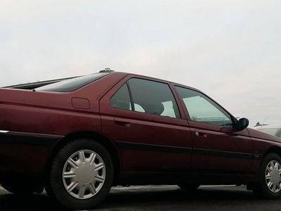 begagnad Peugeot 605 NyBesiktad Skattad Drag -96