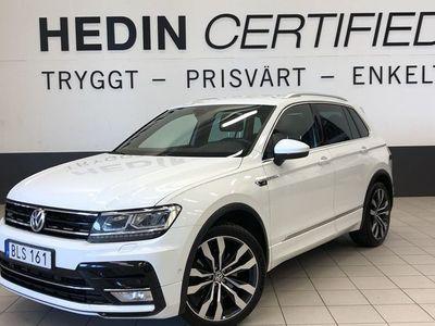 begagnad VW Tiguan R-line, 4-Motion, P-värmare
