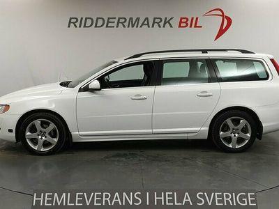 begagnad Volvo V70 D3 Momentum 136hk Nyservad Dragkrok Motorvärmare