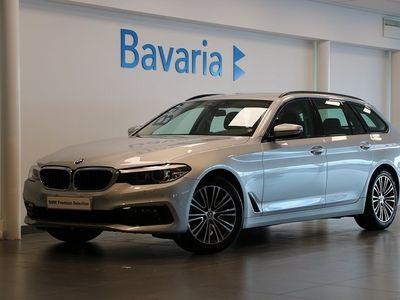 gebraucht BMW 520 d xDrive Touring Sport Line Aut Nypris 548.400:-