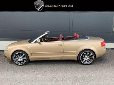 begagnad Audi A4 Cabriolet 1.8 T 163hk/2ägar/Backsensor