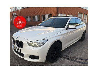 begagnad BMW 535 Gran Turismo d xDrive M-Sport Euro 6 313hk