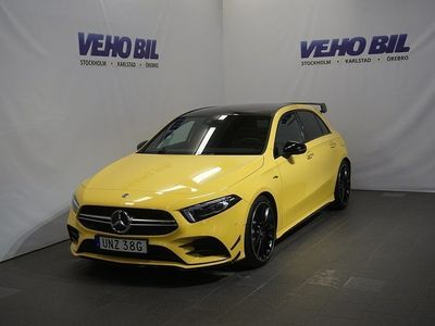 begagnad Mercedes A35 AMG AMG4-Matic 7G-DCT Night package panorama