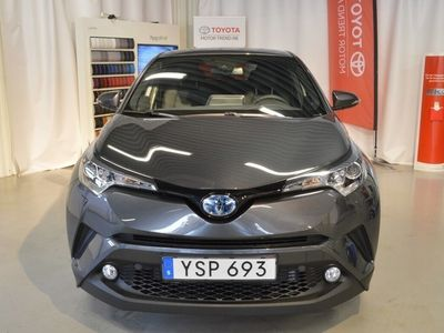 begagnad Toyota C-HR 1.8 Elhybrid X-Edition Vinterhjul Friktion Rattvärme Bluetooth Backkamera
