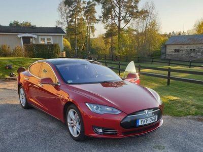 begagnad Tesla Model S P85+ 7-sits