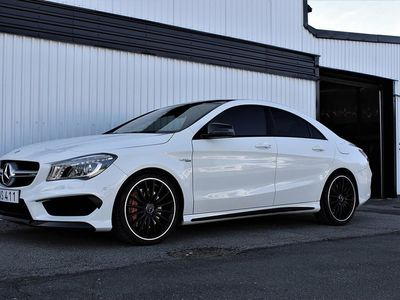 begagnad Mercedes CLA45 AMG 45 AMG 4MATIC AMG Speedshift DCT Exclusive Euro 6 360hk