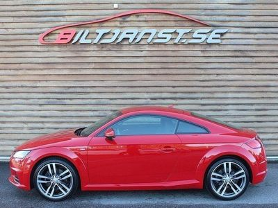begagnad Audi TT Coupé 2.0 TFSI quattro S Tronic Euro
