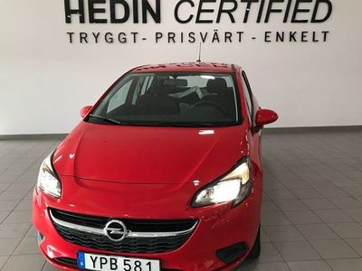 begagnad Opel Corsa 5 - dörrar 1.4 Manuell, 90hk, 2017