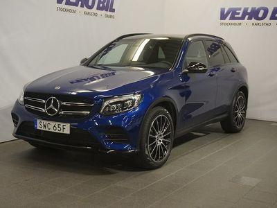 begagnad Mercedes E250 GLC-Klass d Suv 4-Matic AMG-Night Backkamera Värmare Aut Drag Nav I