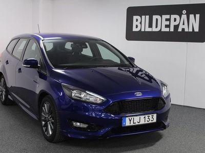 gebraucht Ford Focus 1.0 125 ST-Line Kombi, inkl vinterhjul 2017, Kombi 162 000 kr