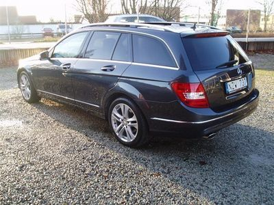 begagnad Mercedes C220 CDI PANORAMATAK NAVI