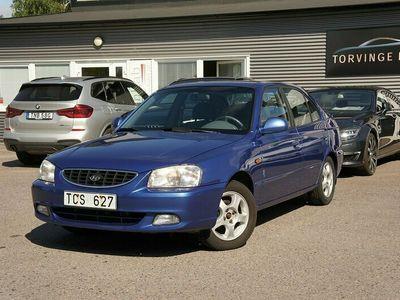 begagnad Hyundai Accent 1.5 / AC / S&V Hjul / 90hk / 12000 mil