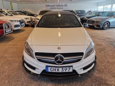 begagnad Mercedes A45 AMG 4MATIC AMG Speedshift DCT Euro 6 360hk