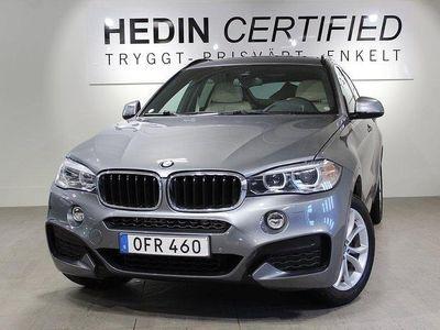begagnad BMW X6 X6XDRIVE30D M-Sport 258Hk Värmare