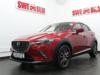 begagnad Mazda CX-3 2.0 OPTIMUM NYBILSGARANTI 1.95 % R