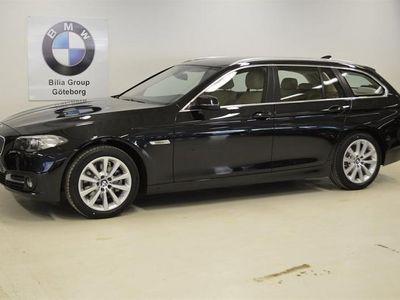 begagnad BMW 520 d Aut xDrive Touring / Sportpaket / Drag / Läder -16