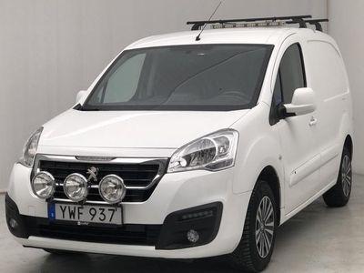 begagnad Peugeot Partner 1.6 BlueHDI Skåp 2018, Transportbil 90 000 kr