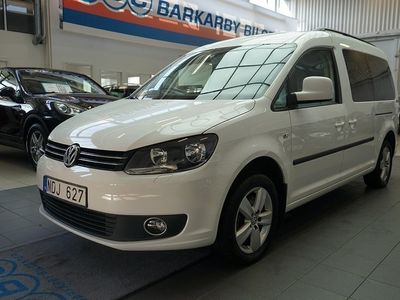 second-hand VW Caddy Maxi Life 2.0 EcoFuel 7-sits /