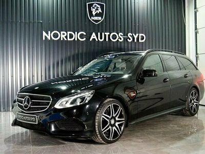 begagnad Mercedes E250 E BenzBlueTEC 4MATIC AMG Sport Euro 6 SE UTR 2016, Personbil Pris 269 900 kr