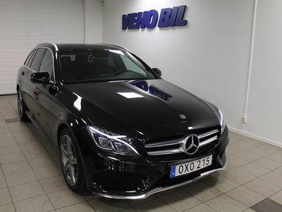 brugt Mercedes C220 d Kombi AMG Panorama Drag -18