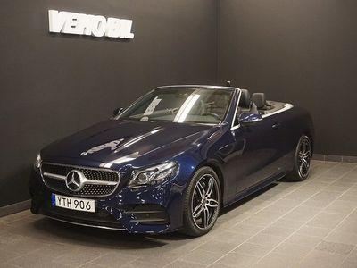 begagnad Mercedes E200 Cabriolet AMG Backkamera Aut Nav ILS