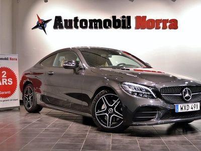 begagnad Mercedes C200 Coupé 184hk 9G-Tronic AMG Night Eu6