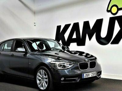 begagnad BMW 118 120 d 5-door   Sport Line   Drag 2012, Halvkombi Pris900 kr