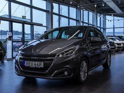 begagnad Peugeot 208 Allure Navigation 5-dörrar 1.2 82hk P-hjälp