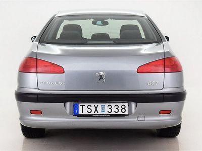 begagnad Peugeot 607 2.0-16V, Nyservad,Nybesiktad,