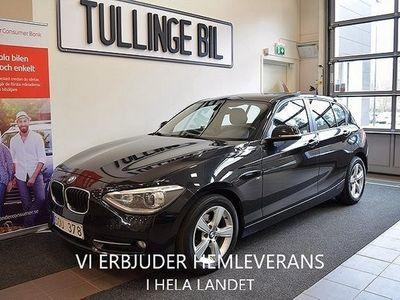 begagnad BMW 118 d Aut SportLine 143hk