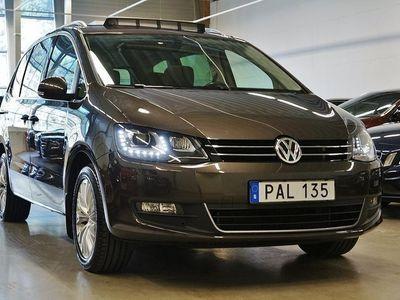 usata VW Sharan 2.0 TDI DSG Sekventiell Premium Euro 6 7-sits 150hk