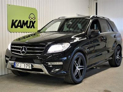 begagnad Mercedes ML350 CDI AMG BlueTEC W166 (258hk)