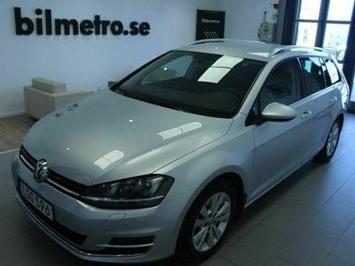 begagnad VW Golf Sportscombi TDI 150 DSG Värmare/Drag/V-Hjul