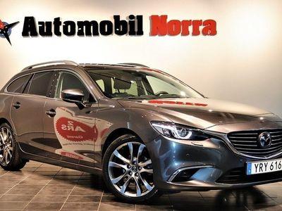 begagnad Mazda 6 2.5 Auto Euro6 Optimum Fjärr-värme Na