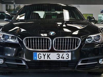 begagnad BMW 520 D COMF.EDITION D.VÄRMARE SKINN 184HK!