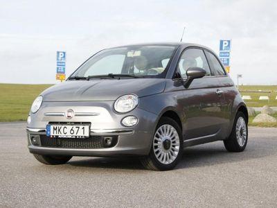 begagnad Fiat 500 Lounge - 5520mil -09