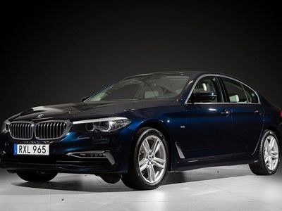 begagnad BMW 520 d xDrive Sedan Steptronic Luxury Line