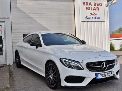 begagnad Mercedes C43 AMG AMGCoupé 4Matic AMG Sport Drag Head-Up Svensksåld