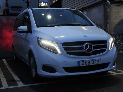 begagnad Mercedes V220 CDI Extra lång / dragkrok
