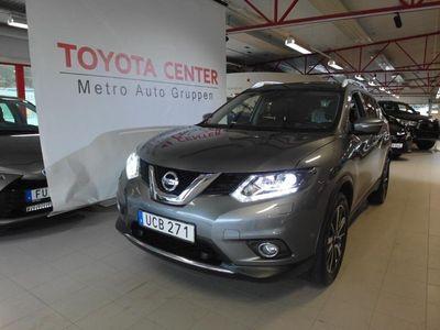 begagnad Nissan X-Trail 1.6 dCi Automat Euro 6 130hk Glastak Skinn