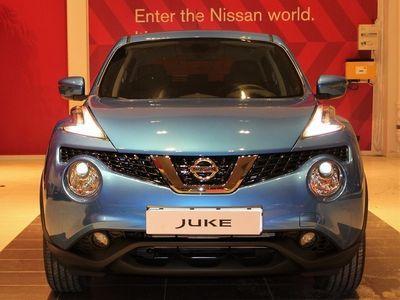 brugt Nissan Juke 1.6L/ 110 HK/ 6M/T/ N-Connecta/ 2WD