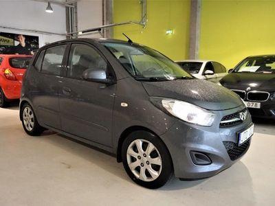 begagnad Hyundai i10 1.1 iRDE Manuell, 69hk, 2012
