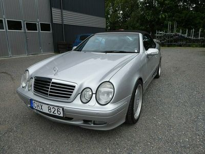 begagnad Mercedes CLK200 Kompressor Cabriolet Automat Avantgarde 163hk