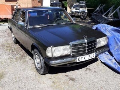 begagnad Mercedes W115 w123