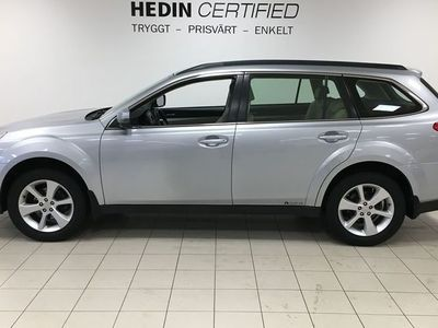 begagnad Subaru Outback 2.5i AWD Aut Business 173hk